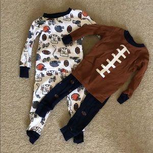 Football pajama set!